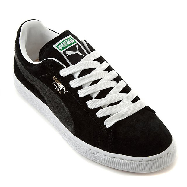 Puma Suede Black Grey