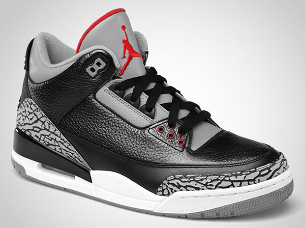 new product 051d2 1b83e Air Jordan III Black/Cement 2011 Retro