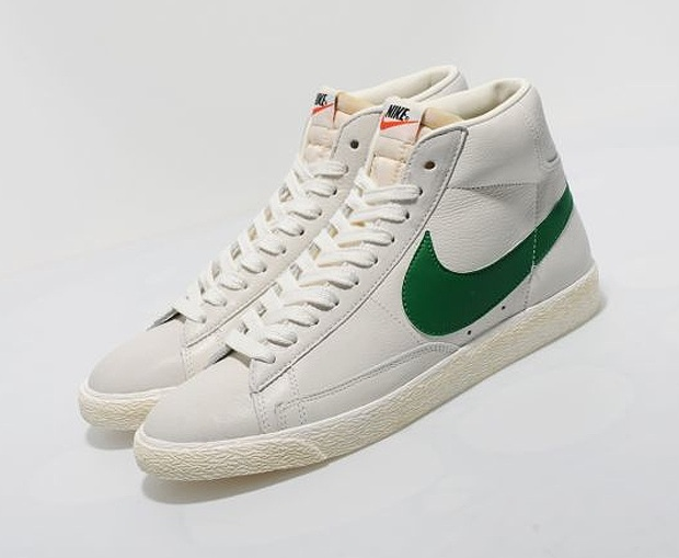 ... Nike Blazer High Vintage (WhiteGreen)