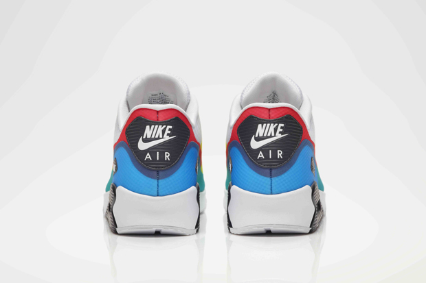 Nike Air Max 90 Hyperfuse Olympic Pack Shoes