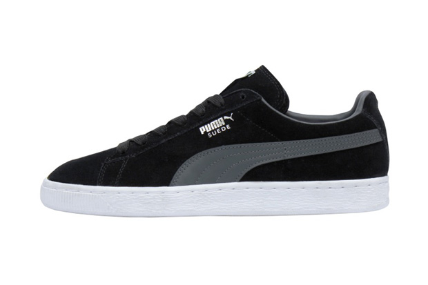 Puma Suede Black And Blue