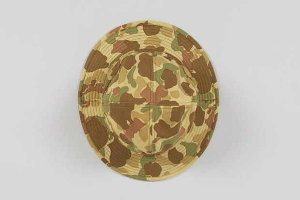 Real Mccoy S Frogskin Army Bucket Hat