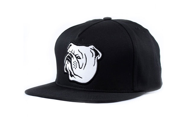 Indcsn-Bulldog-Snapback-Cap-Black