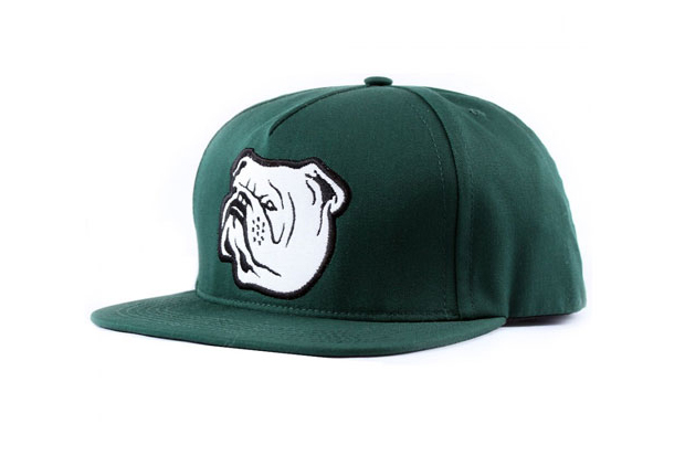 Indcsn-Bulldog-Snapback-Cap-Green