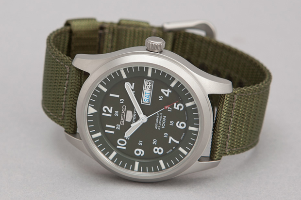 Seiko 5 series made in japan military watches for Watches of japan