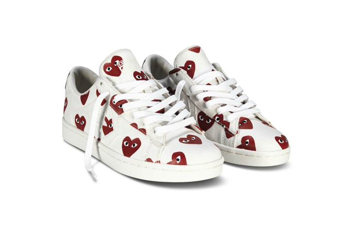 converse x comme des garcons play pro leather
