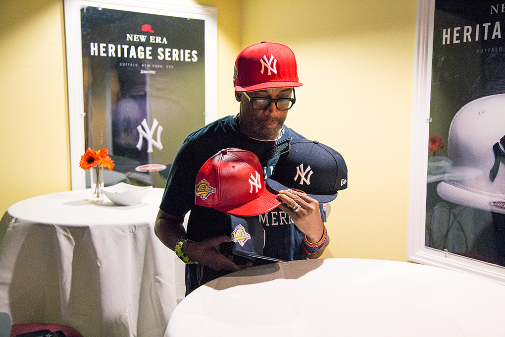 e9ae77019a6 Spike Lee and Christopher Koch talk about the red Yankees cap