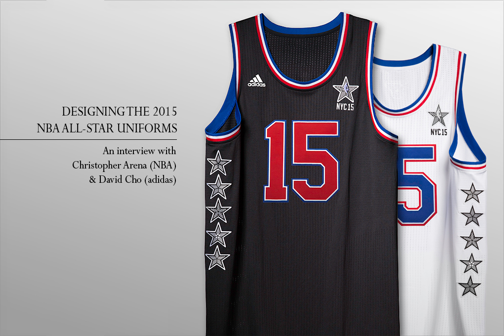 bfad682df6c8 Interview  Christopher Arena (NBA)   David Cho (adidas) on designing the  2015 NBA All-Star uniforms