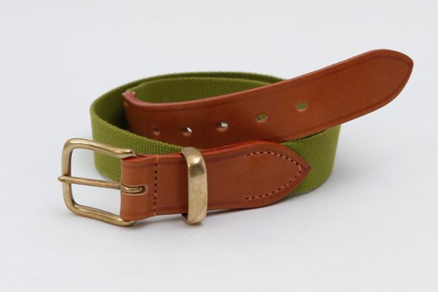 Cottonopolis-Bredon-Belt-Green-Havanna-Tan-£60